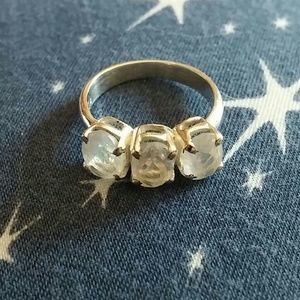 Jewelry - Handmade Rainbow Moonstone Ring